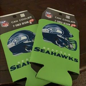 Seattle Seahawks beer coozies
